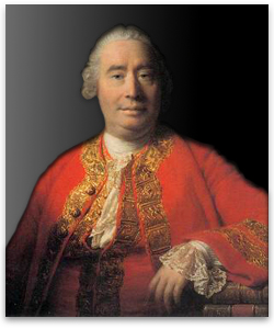 David Hume, seen here contemplating the benefits of the one-child policy