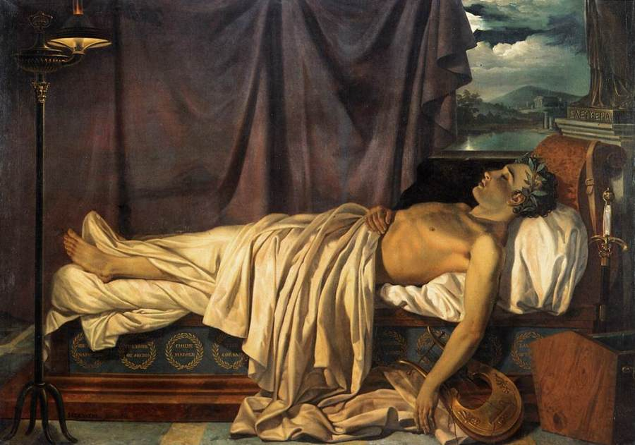 joseph-denis-odevaere-lord-byron-on-his-death-bed-ca-182611
