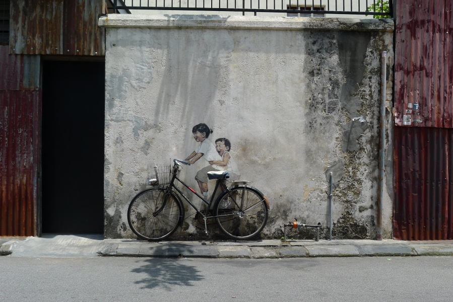 Penang_-_Little_Children_on_a_Bicycle