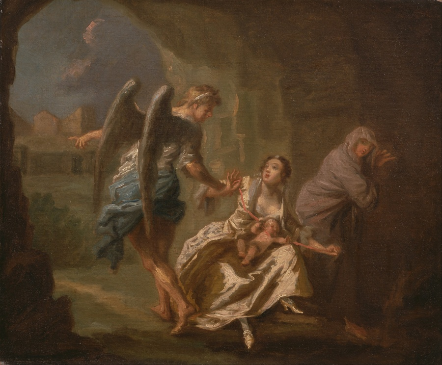 Joseph_Highmore_-_The_Angel_of_Mercy_-_Google_Art_Project