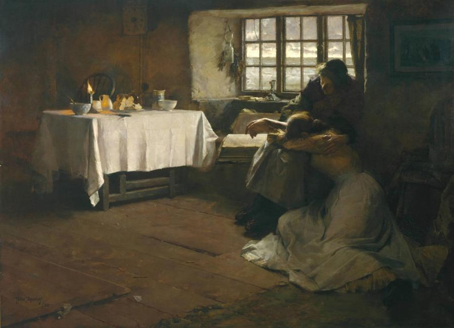 A Hopeless Dawn 1888 Frank Bramley 1857-1915 Presented by the Trustees of the Chantrey Bequest 1888 http://www.tate.org.uk/art/work/N01627
