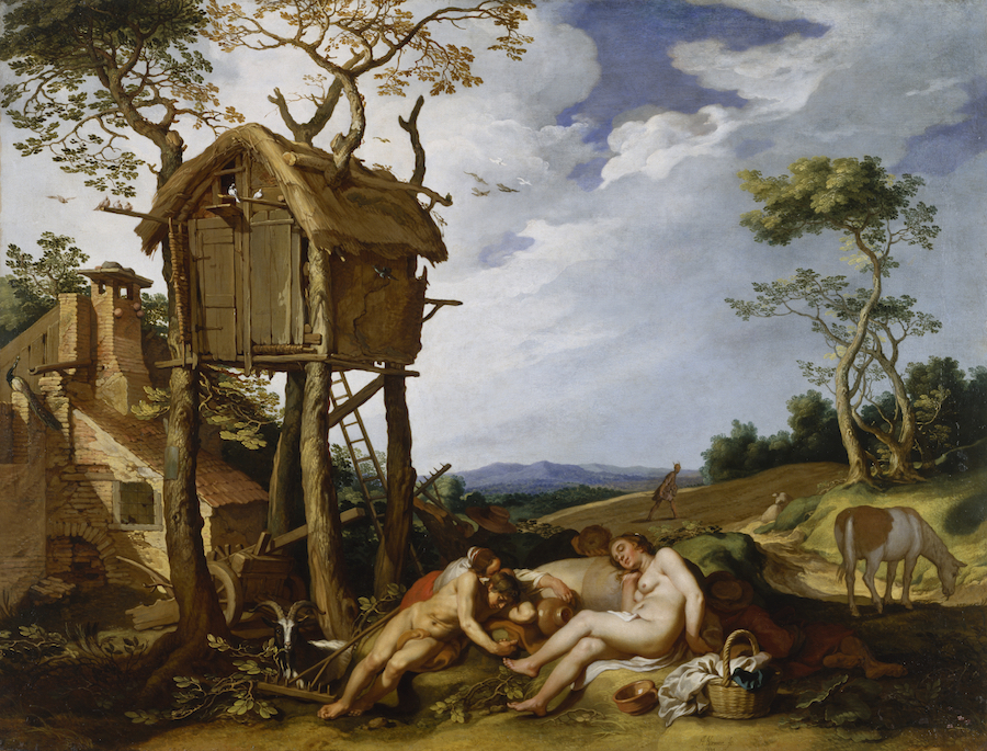 Abraham Bloemaert (Dutch, 1566-1651). 'Parable of the Wheat and the Tares,' 1624. oil on canvas. Walters Art Museum (37.2505): Gift of the Dr. Francis D. Murnaghan Fund, 1973.